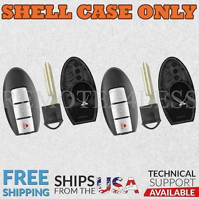 2 Remote for 2008 2009 2010 2011 2012 2013 Infiniti QX56 Shell Case