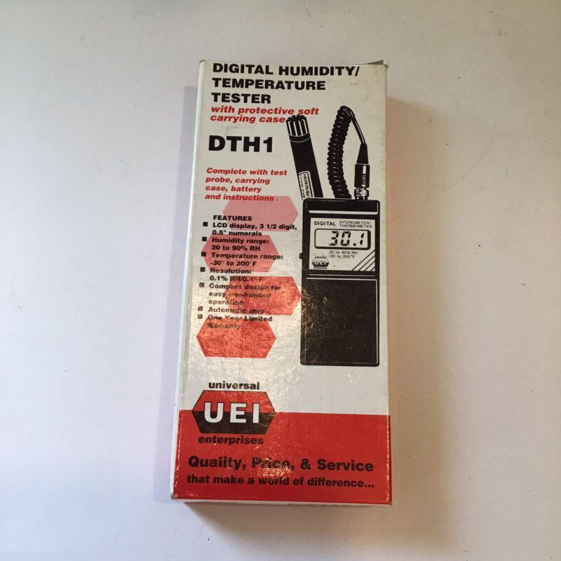Universal Enterprises UEI DTH1 Digital  Humidity/Temperature Tester - VGC - NOS