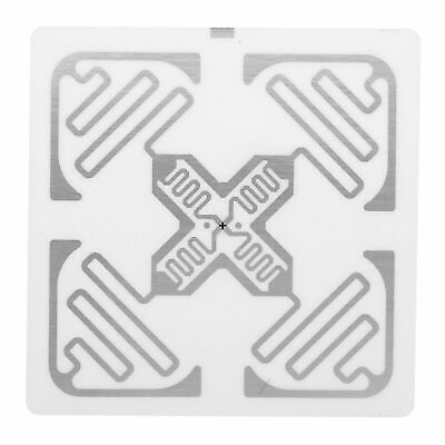 100x Uhf Rfid Tags Sticker Labels 860-960mhz 50x50mm Warehouse Assets Manage Ss
