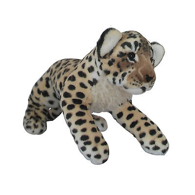 "Fiesta 18.5"" Leopard Plush Stuffed Animal Toy for Boys Girls Kids"