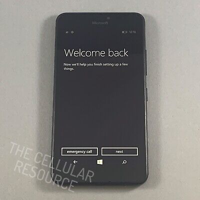 Microsoft Nokia Lumia 640 XL 8GB 4G LTE GSM AT&T Windows Smartphone Black