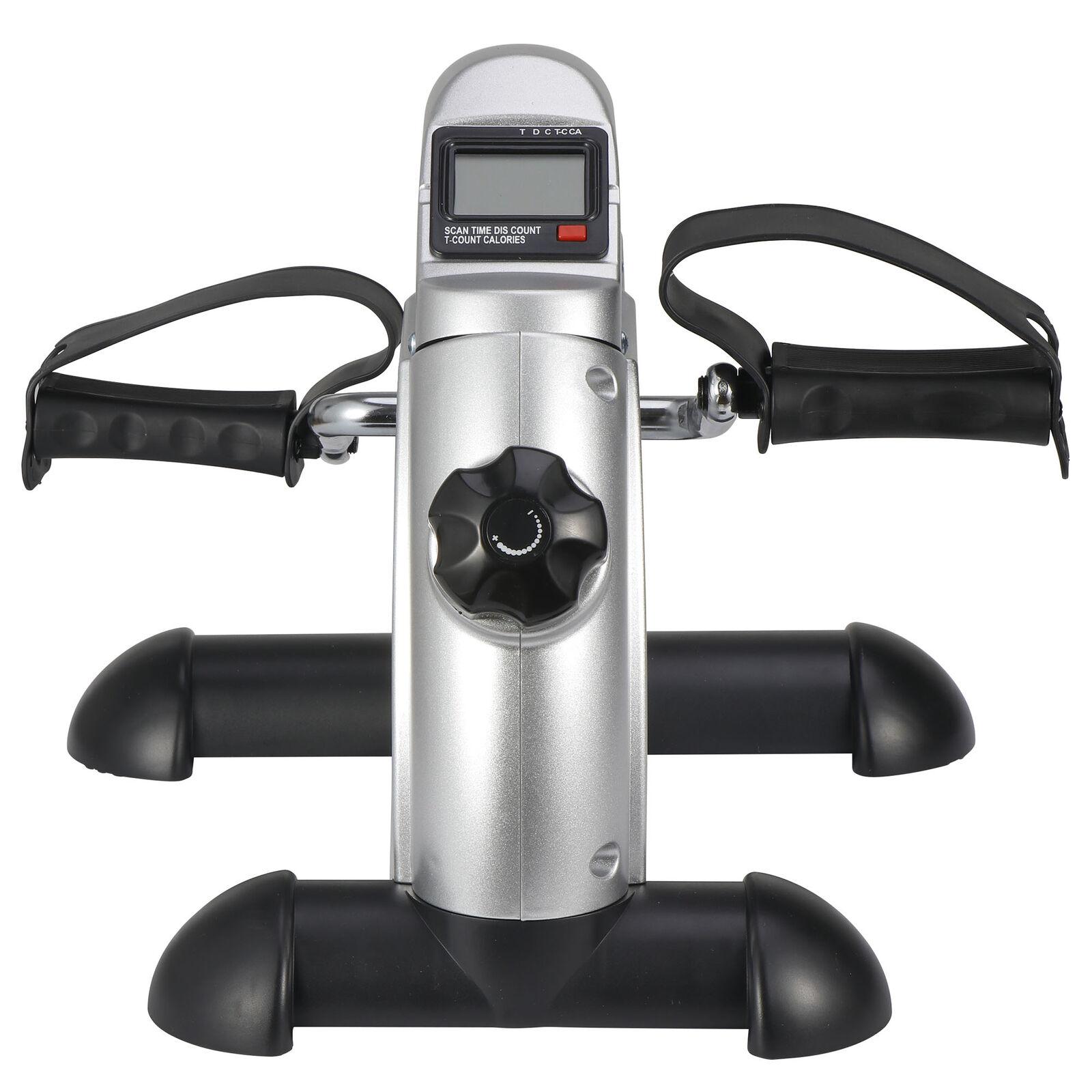 Health Fitness Bike Pedal Exerciser Under Desk Elliptical w/ 8 Levels Resistance 2