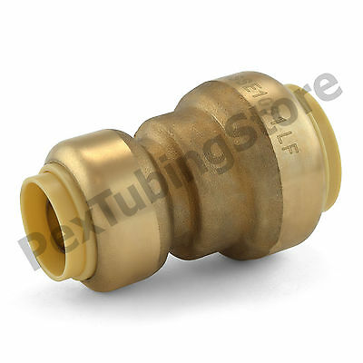 25 34 X 12 Sharkbite Style Push-fit Push To Connect Lf Brass Couplings