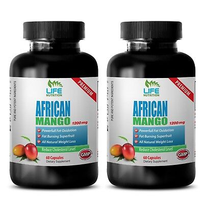 Best Diet Pills - African Mango Lean 1200 - Increase Fat Oxidation Capsules