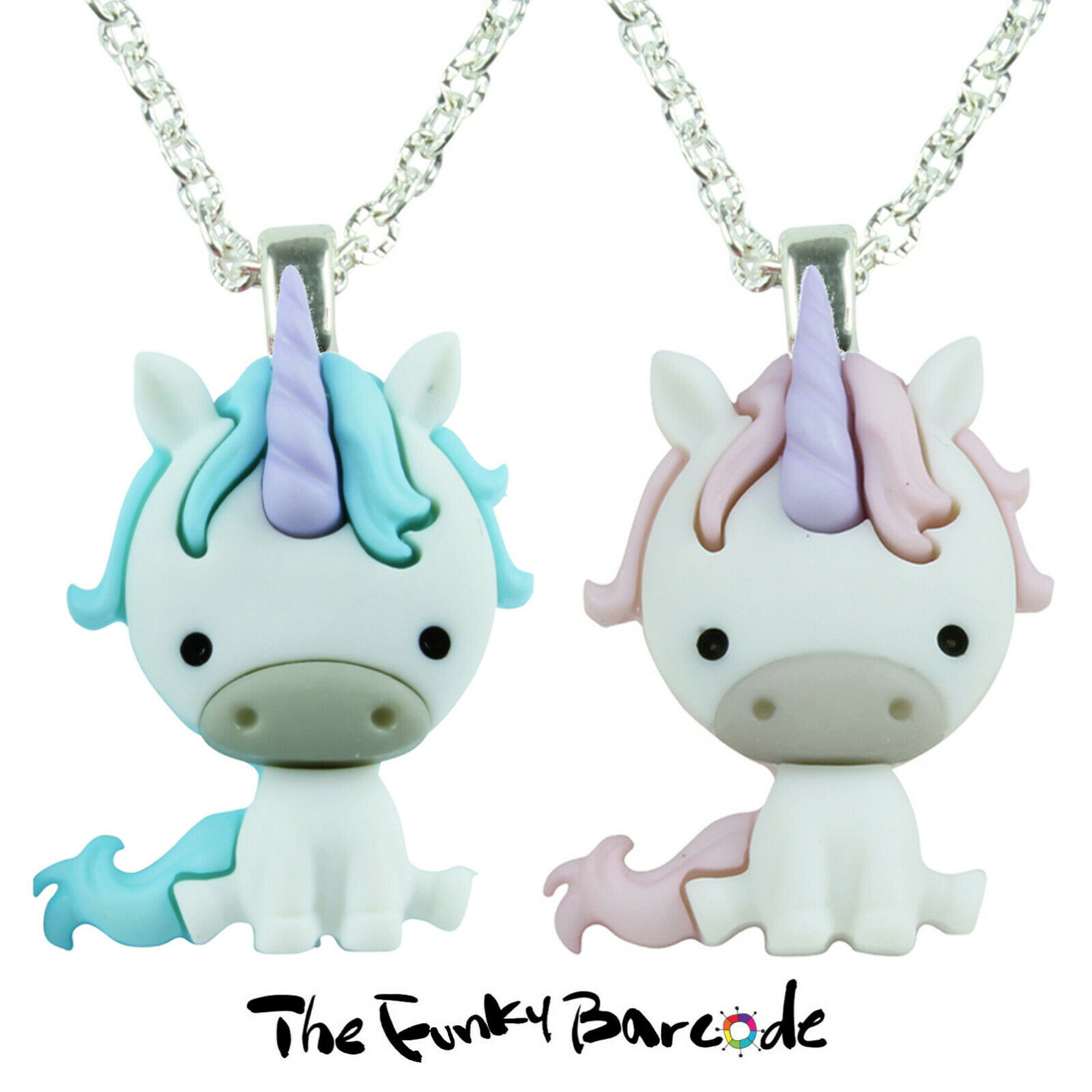 190937d3f TFB - MAGICAL UNICORNS NECKLACE Fairytale Fantasy Dream Cute Sweet Kitsch  Gift ...