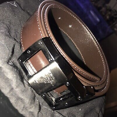 Versace mens leather belt collection
