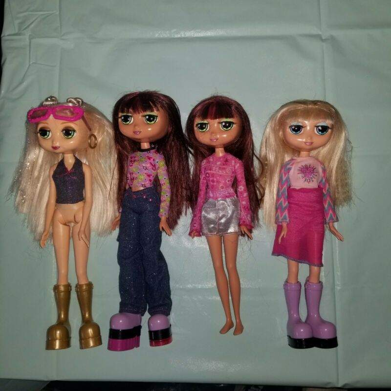 "4 - Mattel 2001 Diva Star / Starz 12"" Red Head & Blonde Doll"