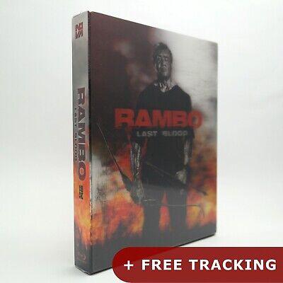 Rambo: Last Blood .Blu-ray Lenticular Limited Edition / NOVA