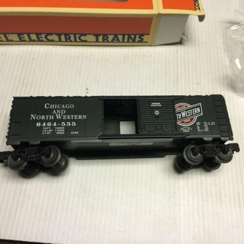 O Gauge 3-Rail Lionel 6-52001 CNW Chicago & North Western Box Car #6464-555