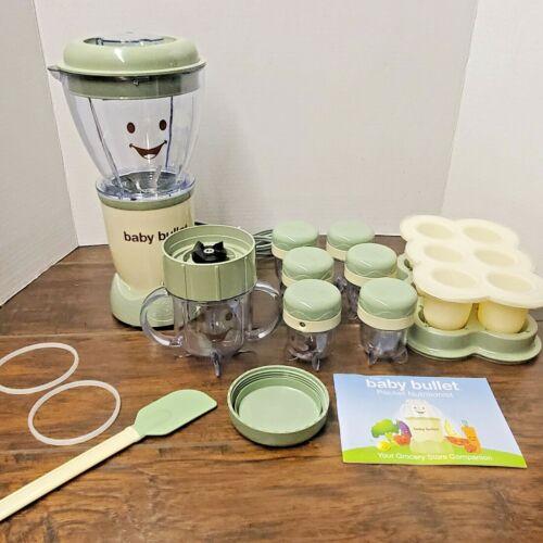Magic Baby Bullet Blender Food Making System Batch Bowl Short Cup Blend Milling