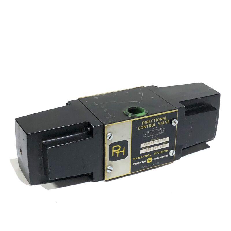 * Parker Hannifin Directional Control Valve Kubika - 450498 115V 50C 23EE