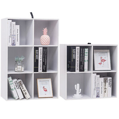 Raumteiler Bücherregal Bücherschrank Standregal Aktenregal Büroregal Weiß #1308