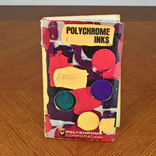 Polychrome Corporation Pantone Chromatone Ink Color Guide Booklet
