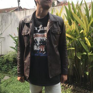 Premium Leather Jacket Lambskin Coat Fight Club GARAGE SALE