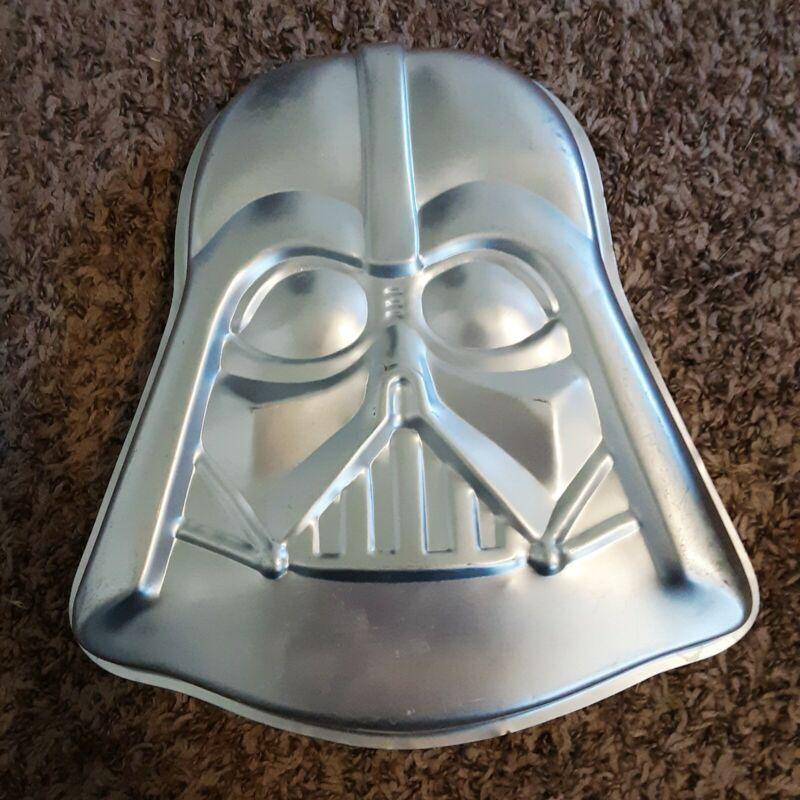 Vintage Darth Vader Star Wars Wilton Cake Pan 1980