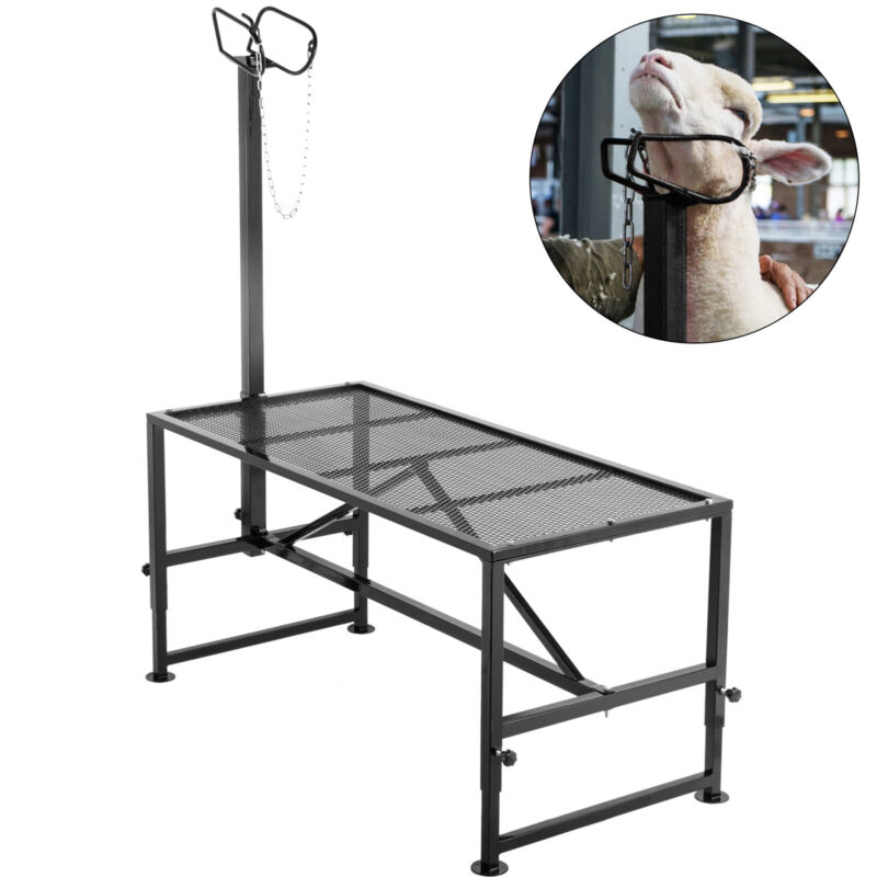 Livestock Stand, Trimming Stand 51x23 inch, Livestock Trimming Platform for Goat