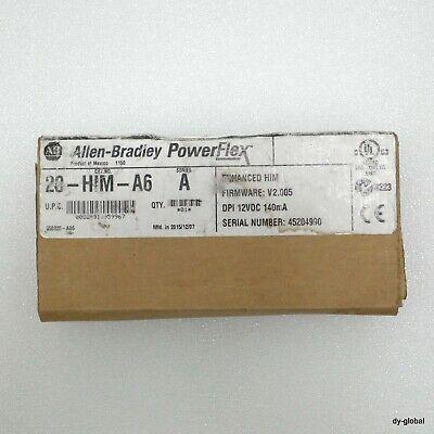 AB NIB 20-HIM-A6 PowerFlex Full Numeric Keypad-LCD Display DRV-I-1915=7C11