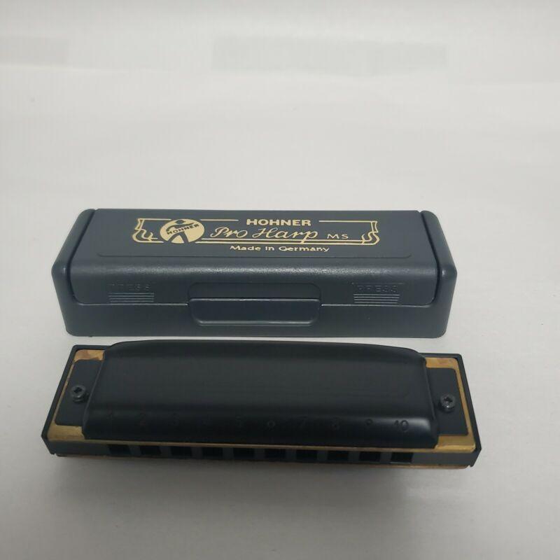 Harmonica Diatonic Hohner 562/20 MS Pro Harp do - C
