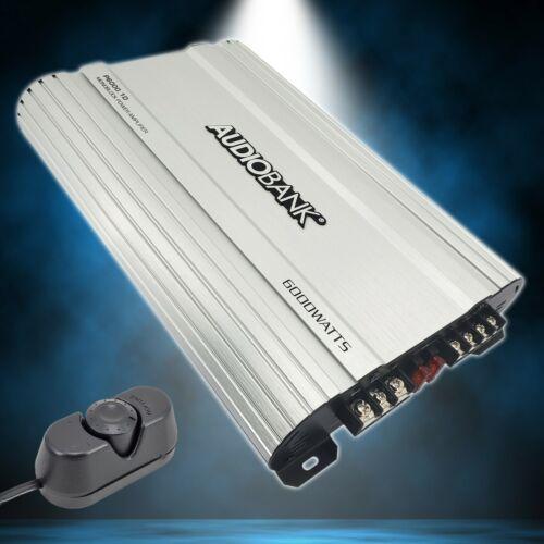 Audiobank Monoblock 6000 WATTS Amp Class D 1OHM Car Audio Stereo Amplifier P6001