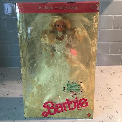 1989 Mattel Barbie, Wedding Fantasy, MIB