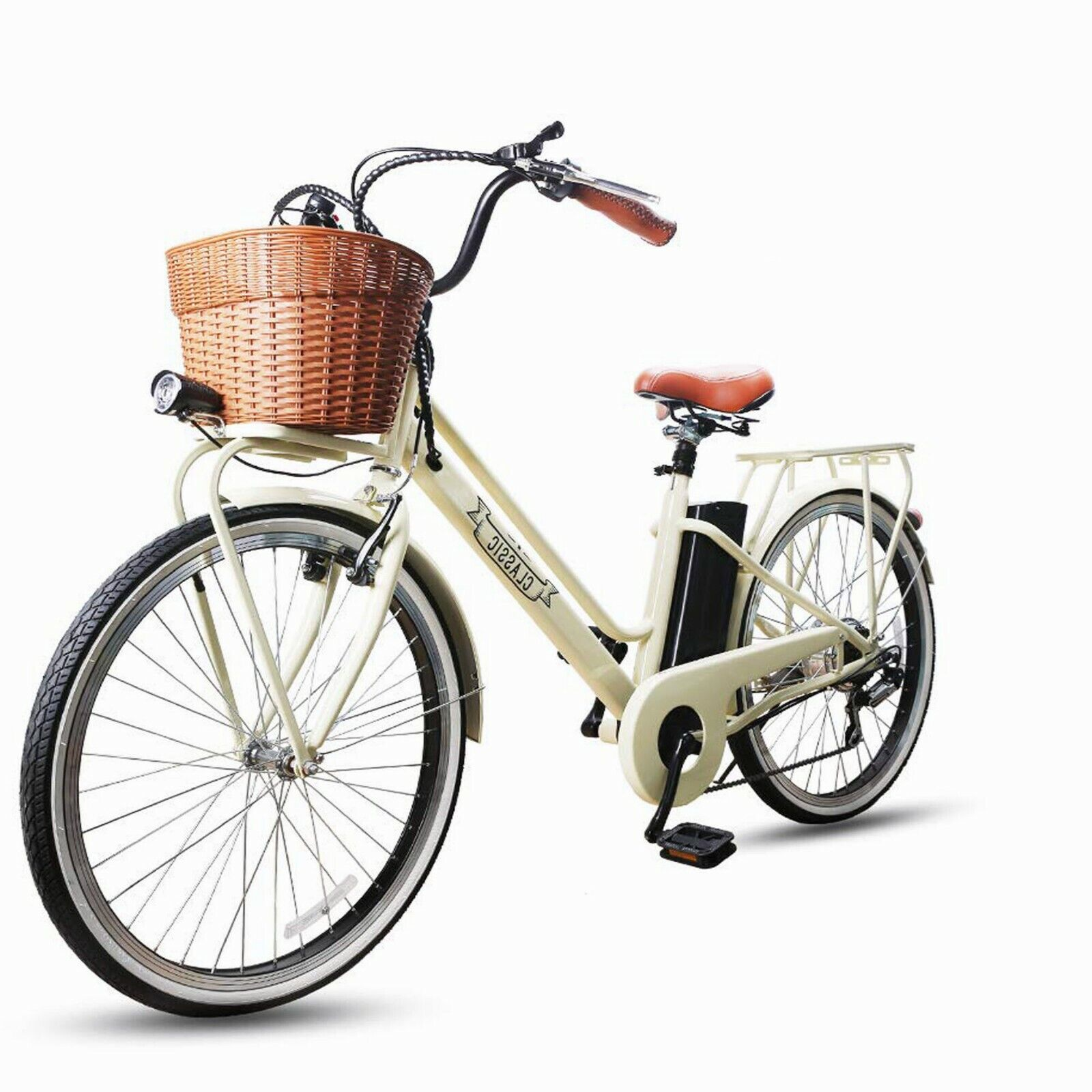Electric Bicycles 26″ Electric Bikes for 250W 36V12Ah Ebikes Cycling