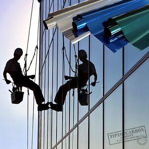 6 57 m film miroir fen tre teint de protection solaire for Film protection solaire fenetre