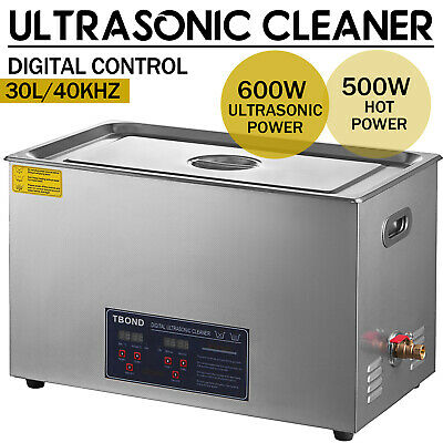 30l Capacity Industry Heated Ultrasonic Cleaner Cleaning Equipment Heater Timer