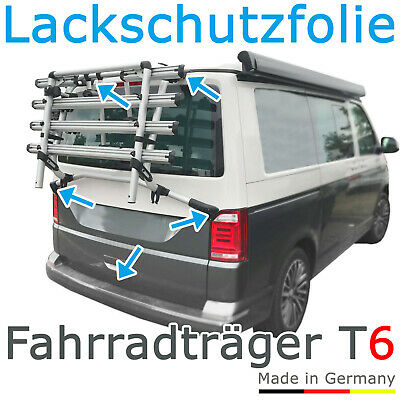 Schutzfolie - Fahrradträger Fahrrad Heckträger - VW T6 Bus Bulli ab 2015