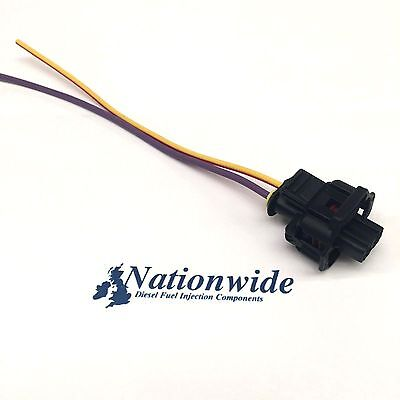 Common Rail Bosch Injector 0445110041 Electrical Connector with wire x1