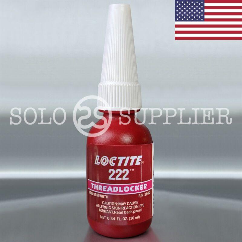 Loctite 222 Low Strength Threadlocker 10ml - USA