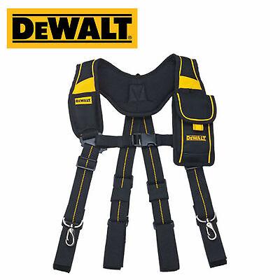[Dewalt] DWST80915-8 Suspenders Pro Work Tool Belt Mobile Pouch