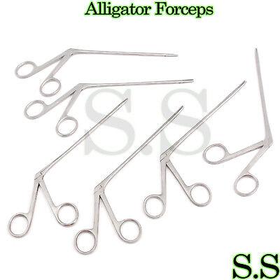 50 Pcs Alligator Forceps 5.5 Surgical Ent Instruments