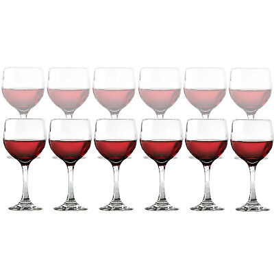 Dailyware Red Wine Glasses - Set of 12, Glass, 10.5 oz - NEW - Free Shipping