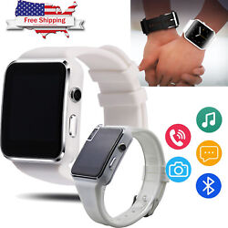 Wireless Bluetooth Smart Watch Phone For Galaxy S9 S8 S7 Plus Note 8 7 iphone X