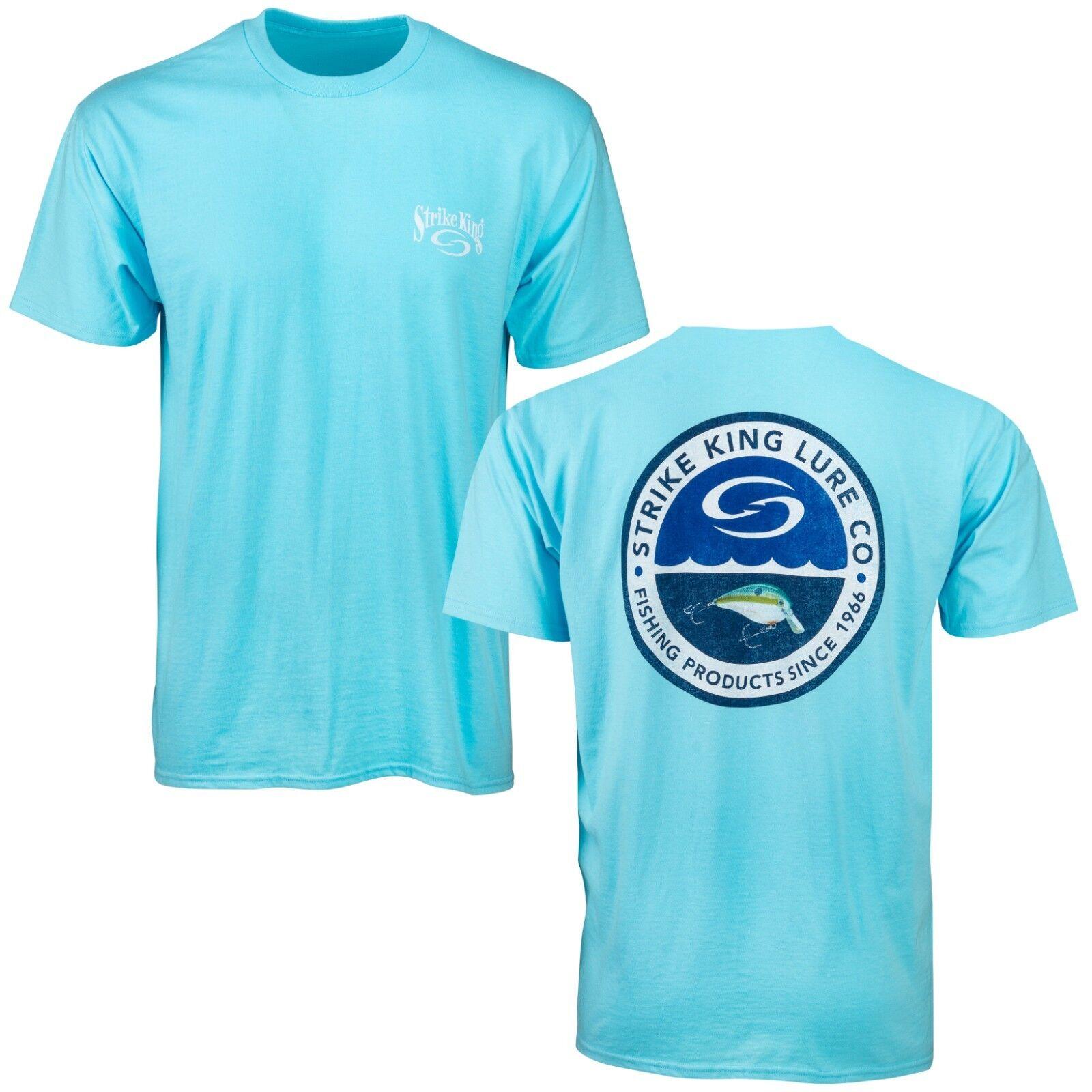 Strike King Circle Badge T-Shirt - Strike King Apparel, Bran