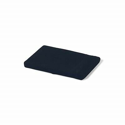 """SMALL 1"""" HEAD PAD/ FOAM CUSHION WITH WASHABLE BLACK COVER FOR PILATES/ YOGA"""