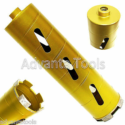 1-38 Dry Diamond Core Drill Bit For Soft Brick Concrete Block 58-11 Threads