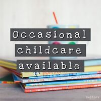 26 Yr Old Female occasional childcare provider