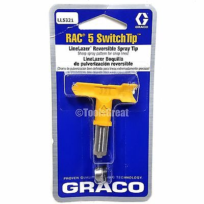 Graco Rac 5 Switchtip Linelazer Paint Spray Tip Ll5321