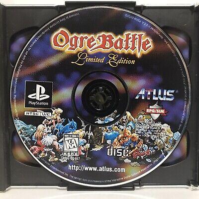 Ogre Battle: Limited Edition Sony PlayStation 1 1997 PS1 No Manual Working Photo comprar usado  Enviando para Brazil