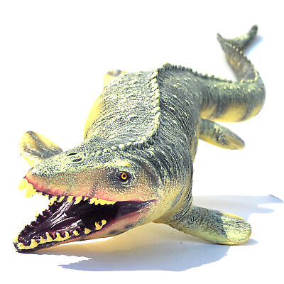 Big Christmas Gifts (Jurassic Big Mosasaurus Dinosaur toy Soft PVC Action Figure Kids Christmas)