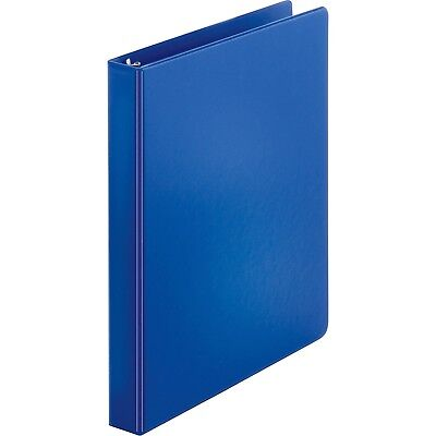 3 Ring Binder. 1 Binder Capacity. 8 12 X 11 Sheet Size. Blue.