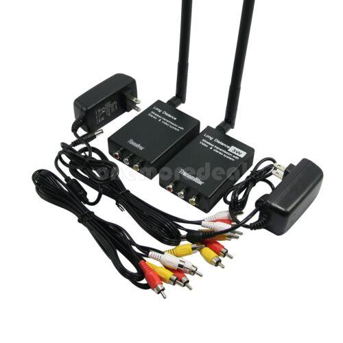 HOT Wireless 3W Video Transmitter Receiver Monitor Wireless Long Distance TX RX