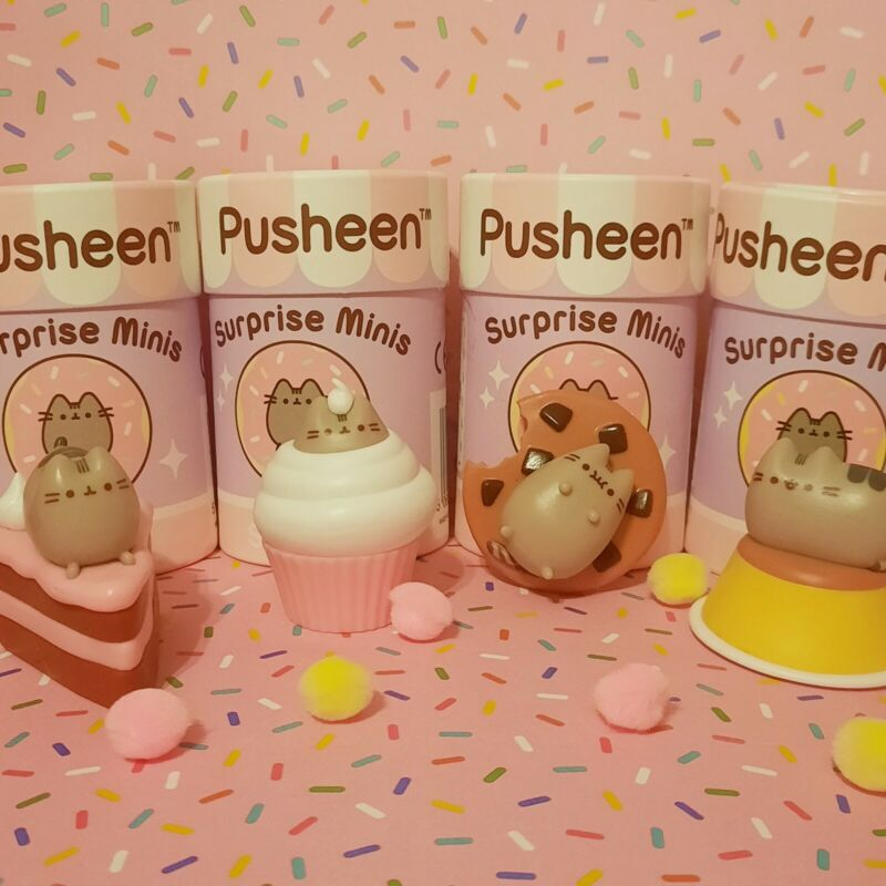 Pusheen Surprise Minis Series 2 Set Of 4 (Opened) New