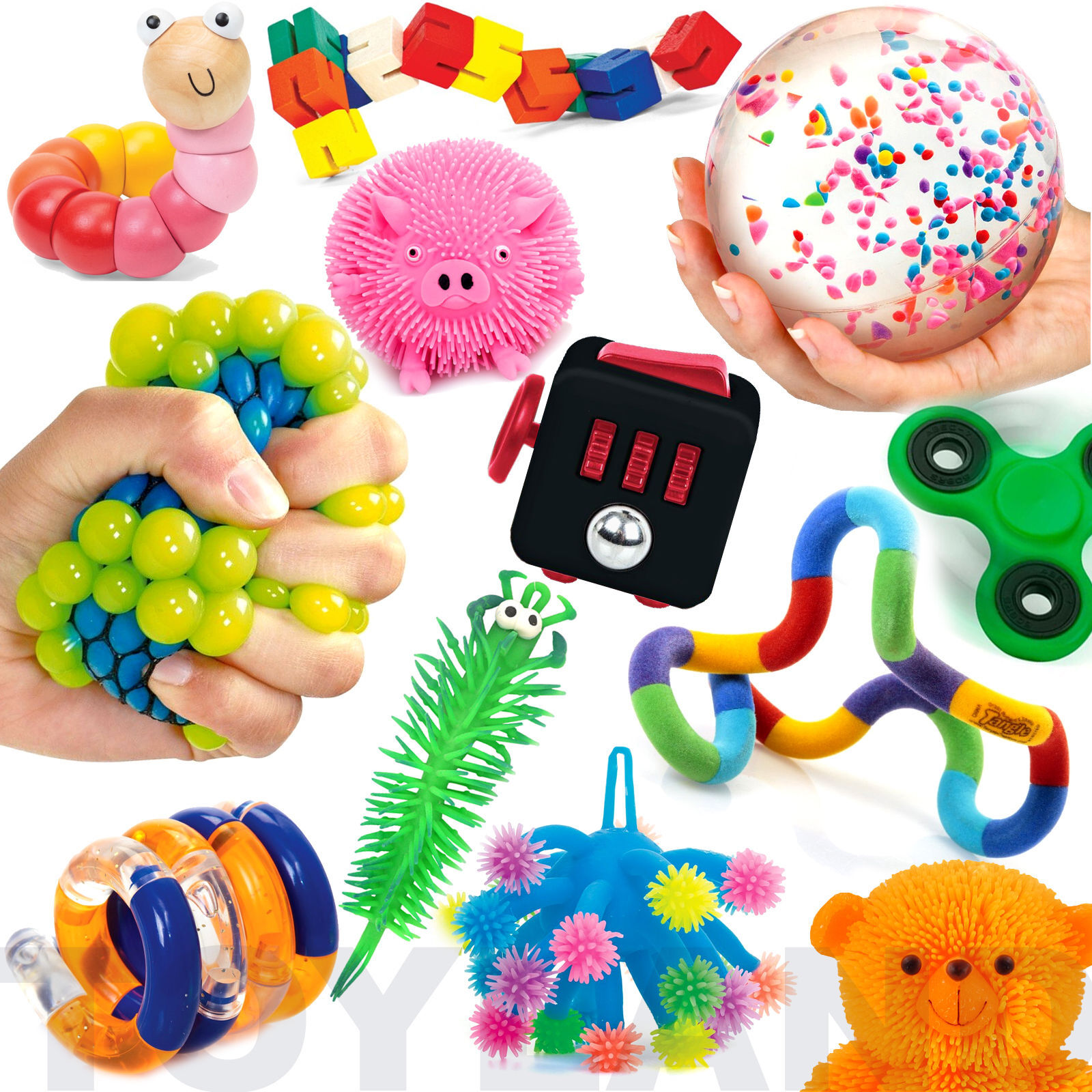 Toys For Autism Special Needs : Fun sensory toys stretch fiddle fidget stress autism adhd
