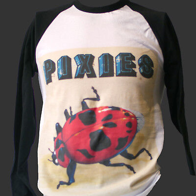 INDIE PUNK ROCK BASEBALL STYLE T-SHIRT breeders long sleeve unisex TOP (Indie Punk Fashion)