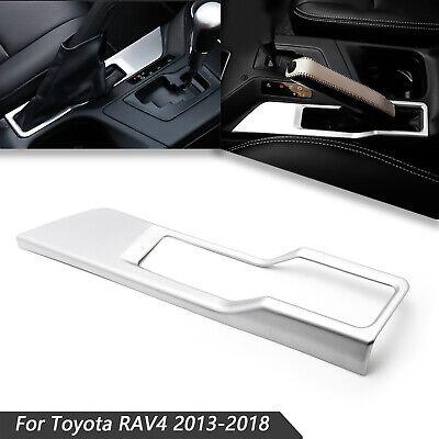 For Toyota RAV4 2013-2017 2018 Inner Hand Brake Parking Frame Chrome Cover Trim
