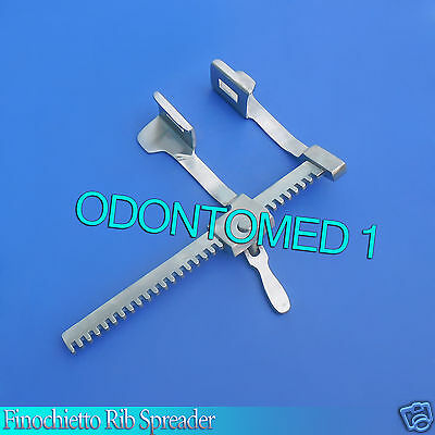 Finochietto Rib Spreader Retractor 8.5 Spread Surgical Veterinary Instruments