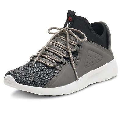 Alpine Swiss Enzo Men's Fashion Sneakers Lightweight Knit Lace Up Tennis Shoes