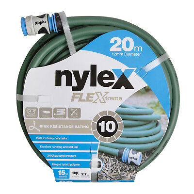 Nylex FLEXTREME GARDEN HOSE 12mmx20m Lead & BPA Free, Hybrid Polymer *Aust Brand